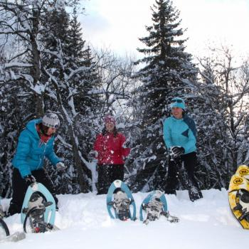 snowshoe adventure